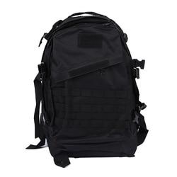 Taktyczna wojskowa plecak plecak camping podróży torba turystyczna 40L czarny w Torby wspinaczkowe od Sport i rozrywka na