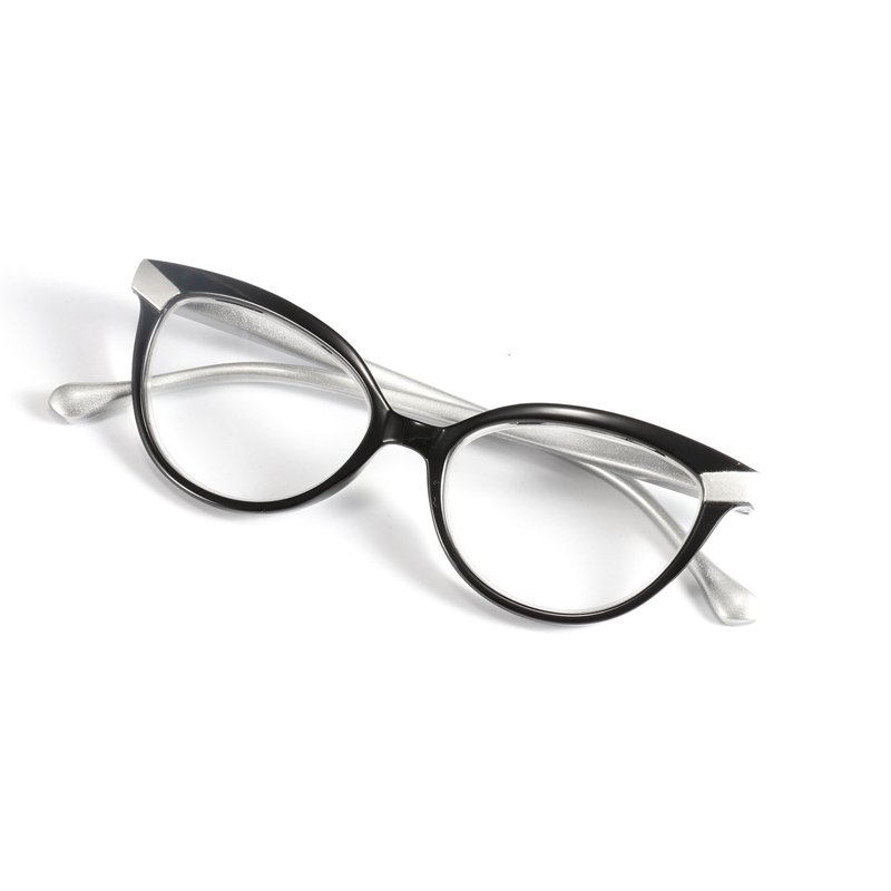 Zilead Cat Eyes Reading Glasses Lady 's Clear Lens Presbyopia Spectacles Eyewear Eyeglasses +1.0+1.5+2.0+2.5+3.0+3.5+4.0 Unisex