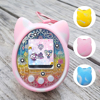 3 Colors Cartoon Protective Cover Shell Silicone Case Pet Game Machine Cover for Tamagotchi Toys for Kids Color Yellow/Blue/Pink