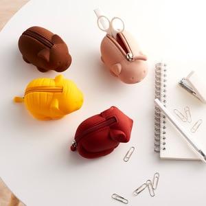 Image 3 - Youpin Jordan&Judy Silicone Coin Purse Cartoon Animal Series Storage Bag Decoration Portable Doll Coin Purse