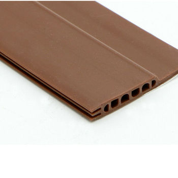 Adhesive Under Door Sweep Weather Stripping Soundproof Rubber Bottom Seal Strip 3