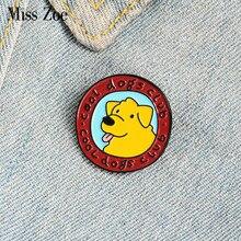 O pino bonito feito sob encomenda do esmalte do clube dos cães fresco do cão broches do filhote de cachorro emblema a camisa do saco do pino da lapela fivela animal presente da joia para o amigo