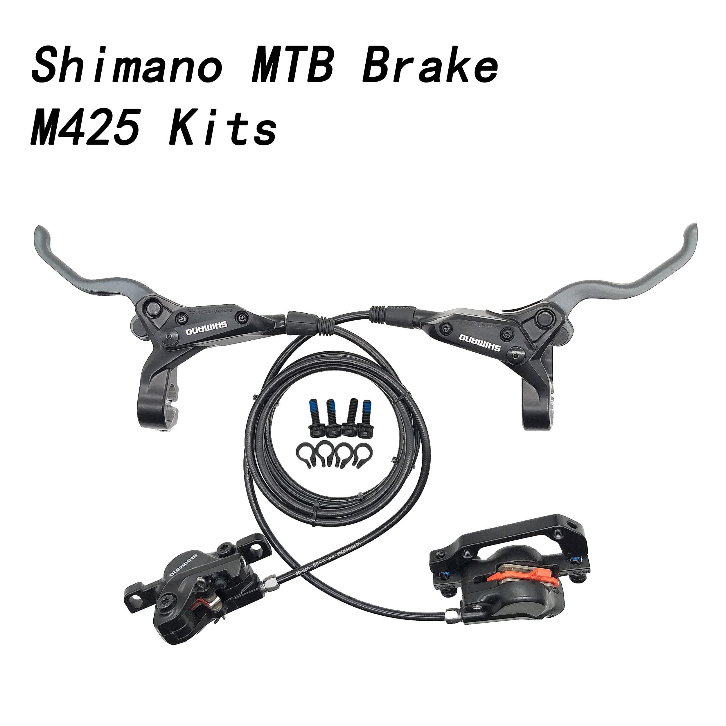 Shimano alivio disco de freio hidráulico, kit de freio com braçadeira m4000 m425, BL M425, BR M395, mtb, mtb, m396 m445|Freio da bicicleta|   - AliExpress