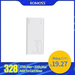 ROMOSS 26800mAh Power Bank Quick Charge 3.0 PD USB C 26800 mah Powerbank Portable External Battery Charger For Xiaomi mi iPhone