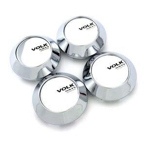 Image 5 - 4 Pcs קרני גלגל מרכז תג רכזת שפת כיסוי 65mm בצורה מושלמת מתאים קרני וולק ראסינג TE37 CE28N חישוקים