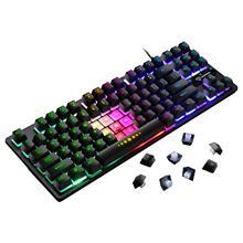 GK-10 87 klawiszy podświetlenie znaków mechaniczna klawiatura gamingowa gra Anti-ghosting podświetlana klawiatura na kabel USB dla pro Gamer tanie tanio HAIMAITONG Pulpit Laptop NONE english CN (pochodzenie) PRZEWODOWY Pojemnościowy lans Wired Mechanical Keyboard 100mA 1 5m