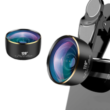 120 Degree Phone Wide Angle Lens 0.6X 16mm HD No Distortion Cellphone Camera Lenses for iPhone Huawei Most Smartphones in Market