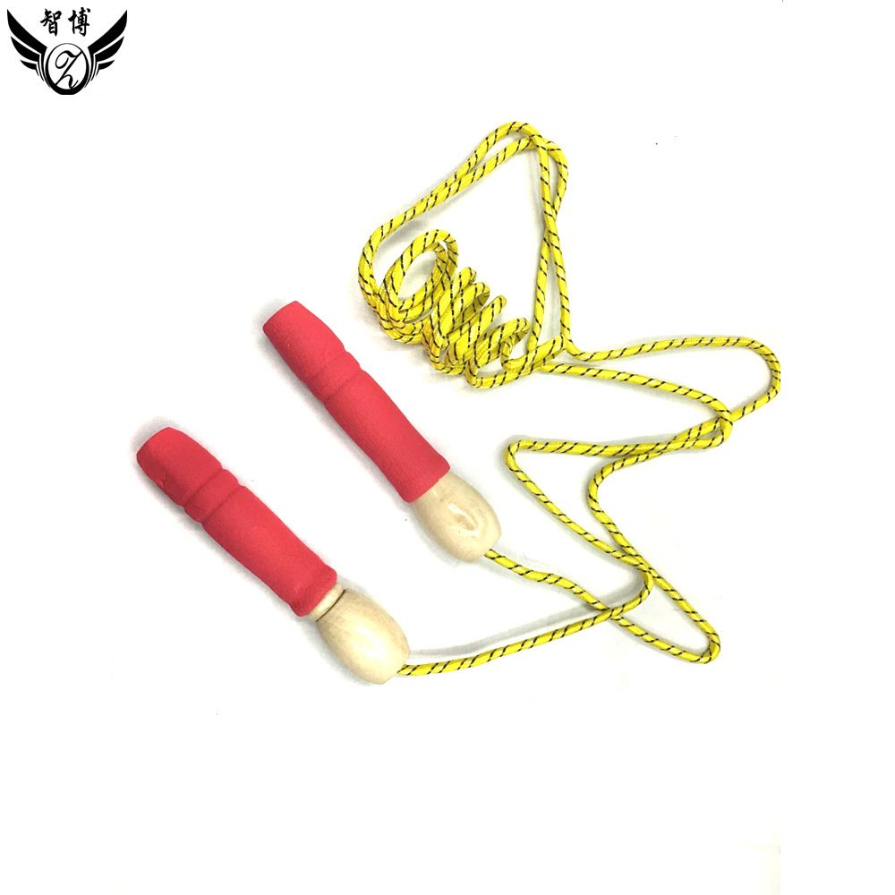 Torch Wooden Handle Cotton Handle Jump Rope Separate Hanging Card Packaging-Small