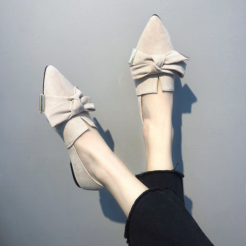 All-Fit 2020 New Style Women's Pointed Toe Low-Cut Women Casual Shoes Women Shoes Flat