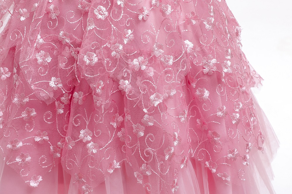 Elegant Party Princess Dress Wedding Gown Kids Dresses For Girls Costume Bridesmaid Christmas Dress Clothing vestido 1-5 Year