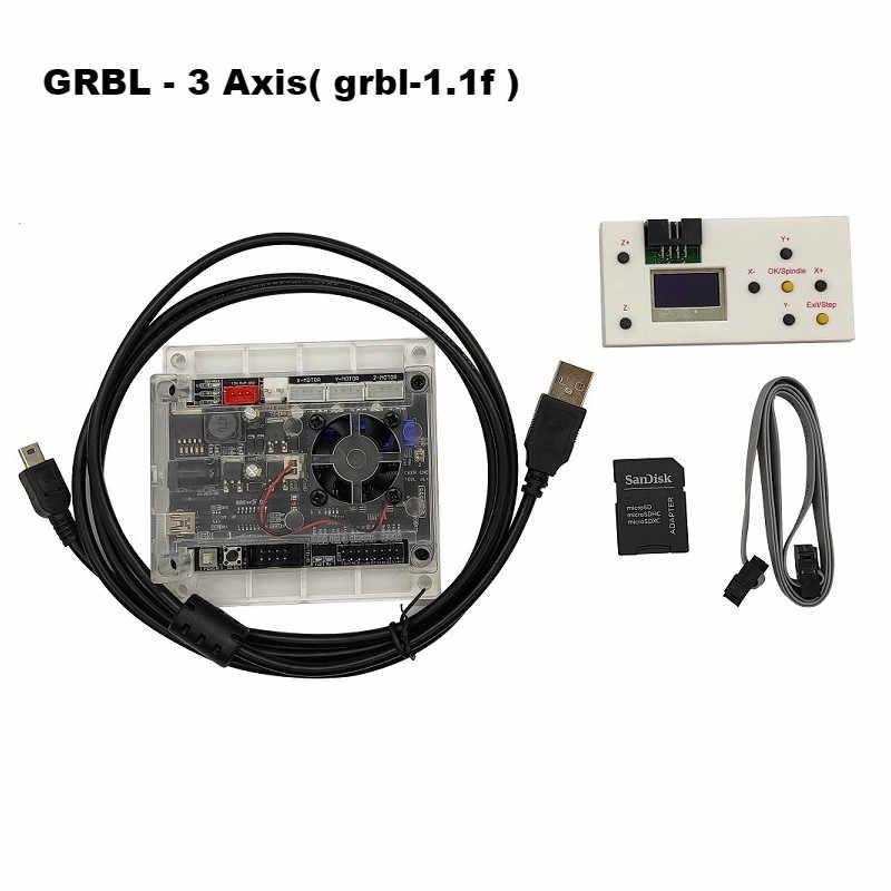 3 축 GRBL CNC 레이저 제어 시스템 1.1f 및 오프라인 컨트롤러 라우터/레이저 조각기 제어 보드 USB 포트 컨트롤러 카드