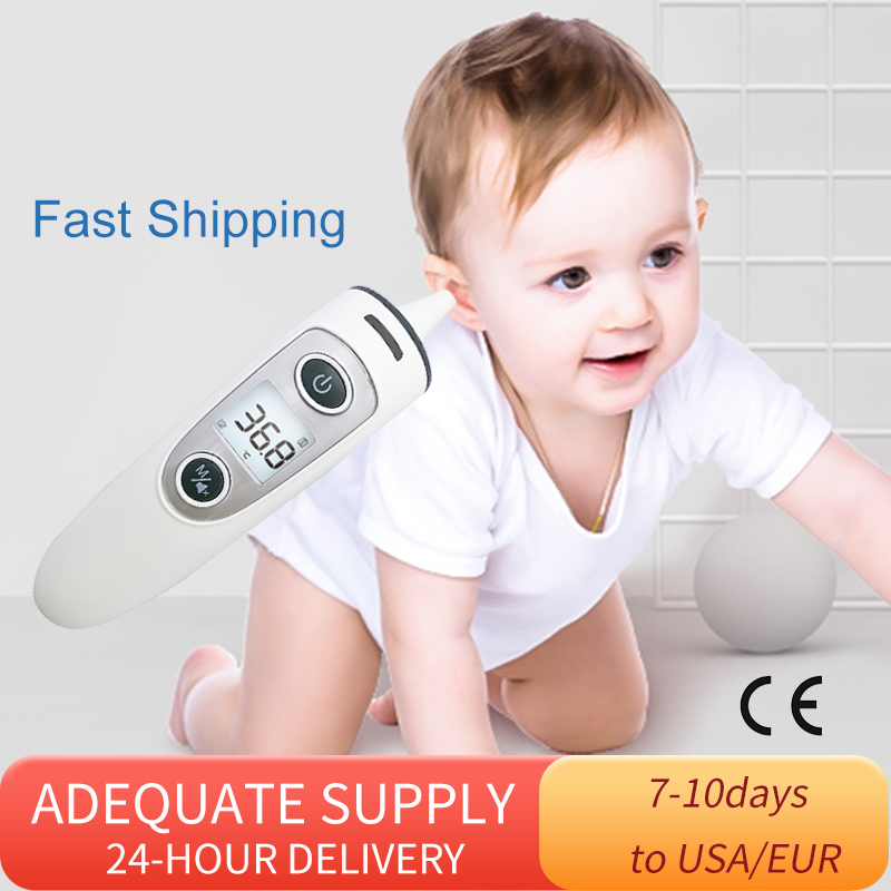 New Baby Infrared Thermometer Body Digital Electronic Thermometer Multi-purpose Non-contact Forehead Measure Temperature Gun