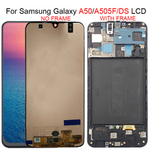 For Samsung galaxy A50 A505F/DS A505F A505FD A505A LCD Display Touch Screen Digitizer Assembly For Samsung A505 lcd