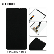цена на LCD Display For Meizu Note 8 M822H LCD Touch Screen Digitizer Assembly Replacement White Black No Frame 6.0