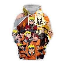 Tessffel Cartoon Anime Naruto Harajuku casual Tracksuit 3D Pullovers Print Hoodie/Sweatshirt/Jacket/shirts Mens Womens funny s-2