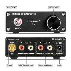 Image 3 - Douk אודיו HiFi MM Phono שלב קדם מגבר RIAA פטיפון מיני מגבר פטיפון מגבר