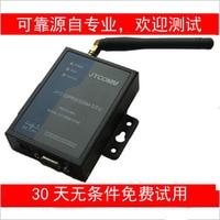 4G SMS Alarm Module Wavecom TC35i PLC Configuration Force Control Machine Room Monitoring