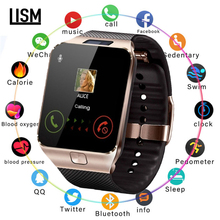 2019 Bluetooth DZ09 Smart Watch Relogio Android Smartwatch Phone Fitness Tracker Reloj Watches Subwoofer Women Men Dz09
