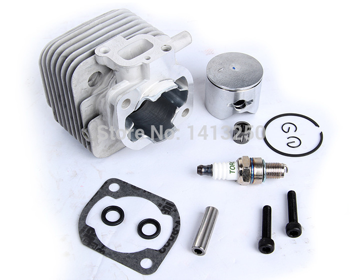 2 Hole 29cc Cylinder Kit For 1/5 Hpi Rofun Rovan Km Baja Engines Parts