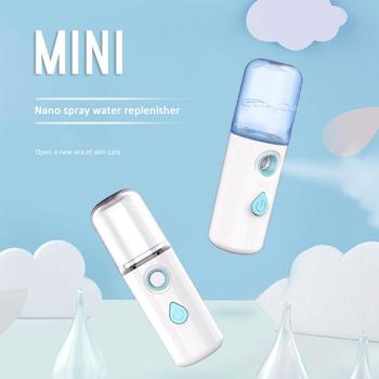 Mini Facial Steamer USB Nano Moisturizer Portable Facial Sprayer Quick Moisturizing Humidifier Face Mist Spray Skin Care Sprayer недорого