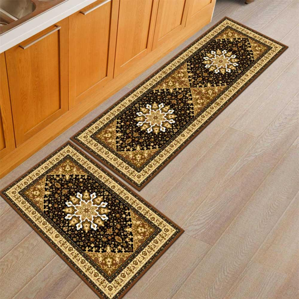 Washable Kitchen Mats with Anti Slip Bottom for Kitchen and Hallway Entrance Floor 37