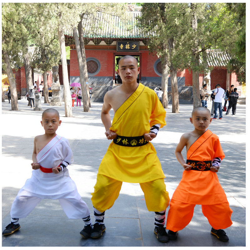 Children Martial Arts Shaolin Wing Chun Suit Kids Traditional Chinese Kung Fu Wushu Tai Chi Uniforms Stage Cosplay Clothing Set