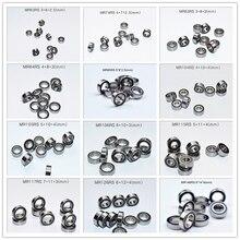 Kauçuk conta çoklu boyutları minyatür rulman 10 parça ücretsiz kargo MIX MR63 MR74 MR85 MR95 105 106 115 117 126 128 137 148