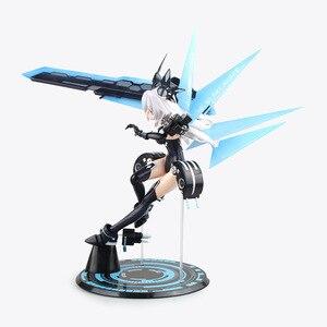 Image 4 - Anime Hyperdimension Neptunia Black Heart Noire Neptune 1/7 Scale Battle Ver. Sexy PVC Action Figure Collectible Model Toys Doll