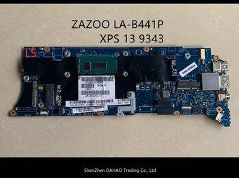 ZAZ00 LA-B441P płyty głównej płyta główna dla DELL XPS P54G 13 9343 laptopa płyty głównej płyta główna w CN-0K0JPD 0K0JPD SR23Z I5-5100U CPU 4G 100% w pełni przetestowane