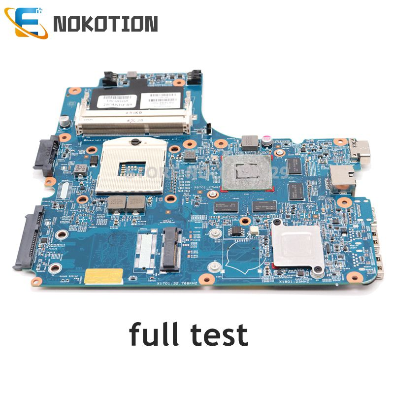NOKOTION Laptop Motherboard for HP ProBook 4740s 4540s 4440s 4441s 683494-001 HM76 DDR3 MAIN BOARD 1GB GPU full tested