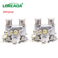 2PCS X 40mm New Carburetor 40 DCOE 40DCOE  Weber Carb Assy For Twin Choke 4, 6Cyl 1975 1992 All VW V8 Engines 199550.174