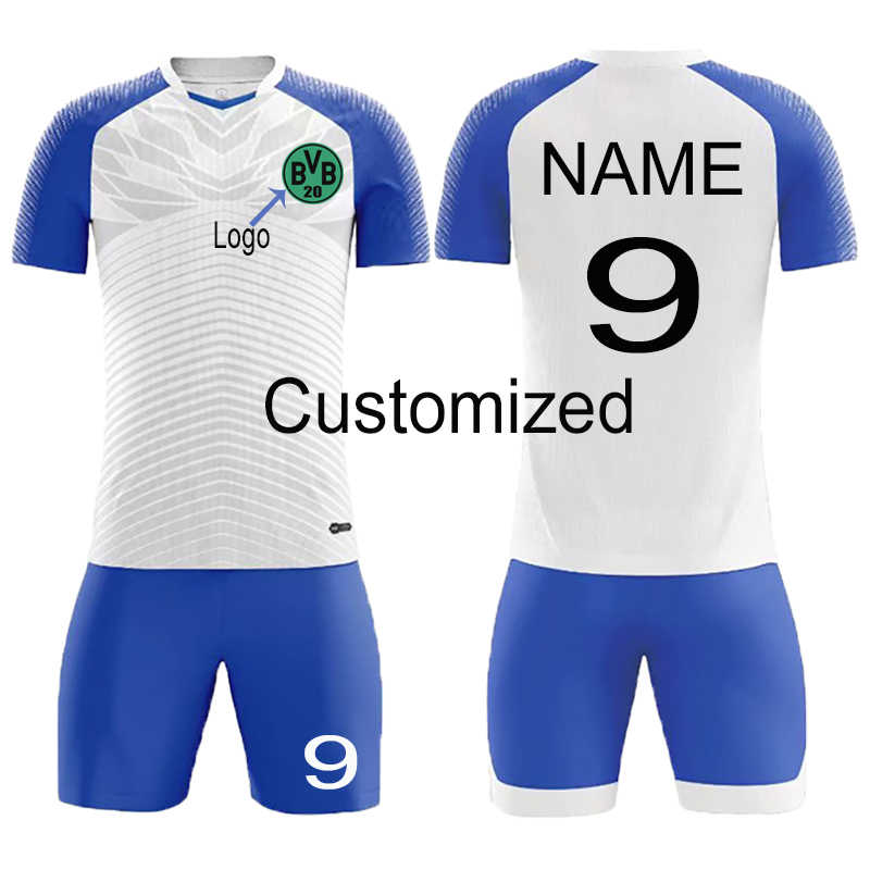 713c4919 survetement football kit 2019 new Men Kid football jerseys shirt youth  soccer Clothing sport kit women men soccer sets Custom