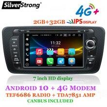 SilverStrong Android10 OCTACORE 4G 64G Ibiza автомобильный DVD для Seat Ibiza IPS 7 дюймов Android радио Ibiza GPS с опцией CARPLAY