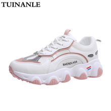 TUINANLE Sneakers 2020 New Womens Shoes Reflective Quality P