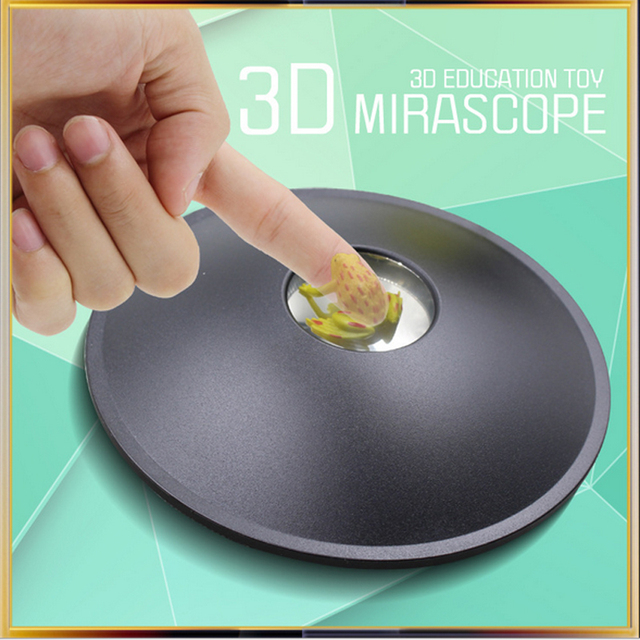 3D Mirascope Hologram Chamber Magic Box Optical Projection Visual illusion Toy Funny Science Educational Toys For Children