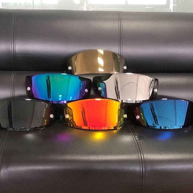 Helmet Visor for X14 X-14 Z7 Z-7 CWR-1 NXR RF-1200 X-spirit Model Motorcycle Helmet Visor X14 Motor Bike Accessories Parts