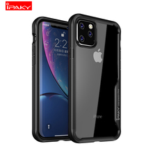 IPAKY 2019 New Phone Case for iPhone 11 pro max 5.8 & 6.1 6.5 inch Coque Luxury Full Pretection Back Cover Apple iphone