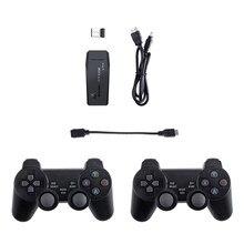 M8 tv vídeo game console hdmi saída compatível mini retro console de jogo com 2 controladores sem fio para mame/ps/atar 2600/7800