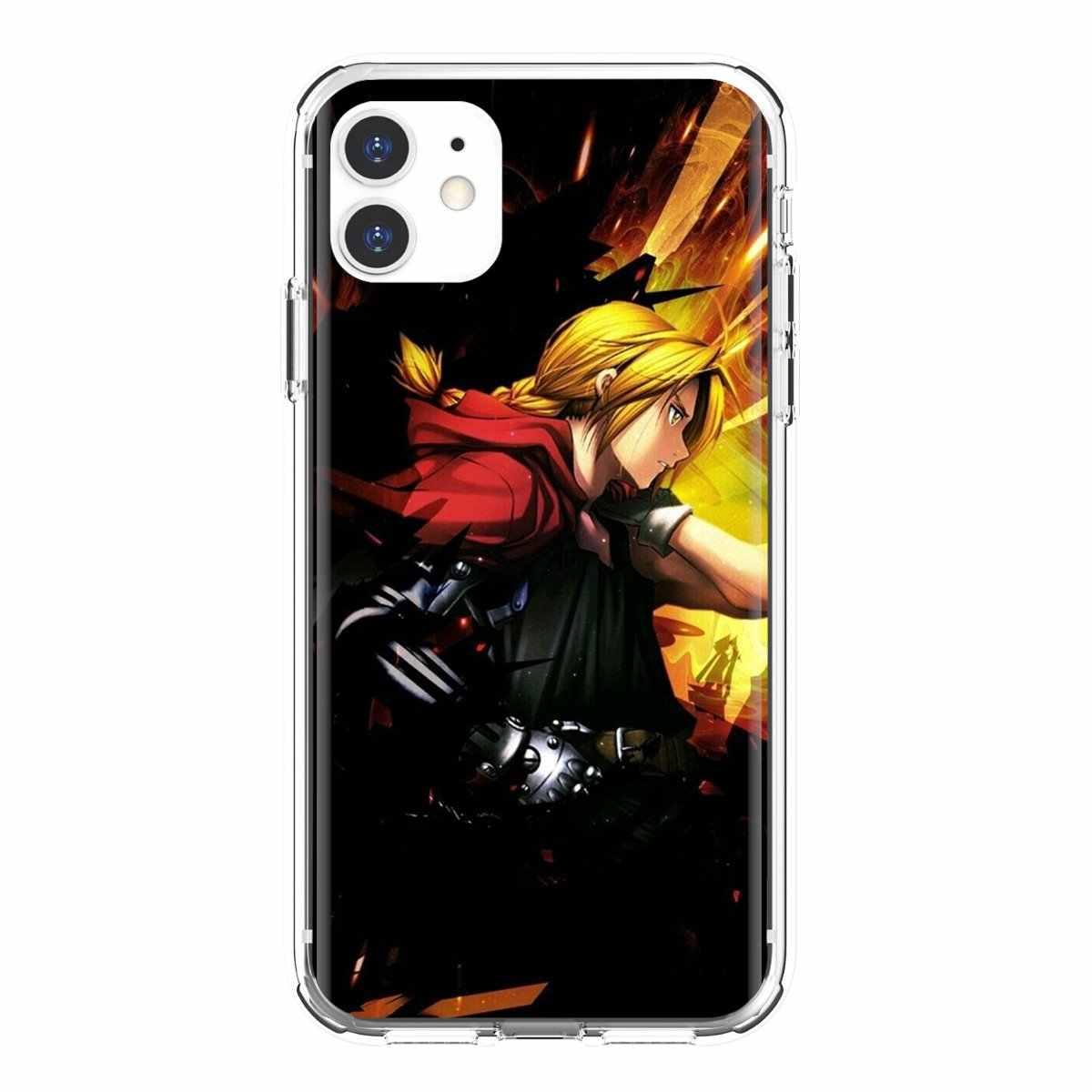 Ốp Lưng Dẻo Dành Cho Samsung Galaxy Samsung Galaxy J1 J2 J3 J4 J5 J6 J7 J8 Plus 2018 Prime 2015 2016 Anime Năm 2017 fullmetal Alchemist Edward Elric