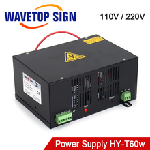 WaveTopSign HY-T60 Co2 Laser Power Supply for CO2 Laser Engraving Cutting Machine with Long Warranty