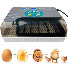 Behogar Eggs Semi-automatic Digital Incubator Brooder Machine Adjustable Temperature Poultry Hatcher for Chickens Duck Bird Eggs