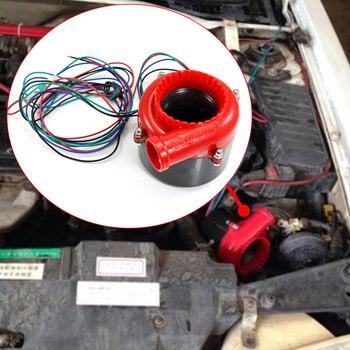 Автомобильный поддельный дамп электронный турбо выдувный клапан с гудком аналоговый звук BOV электронный предохранительный клапан красные ...