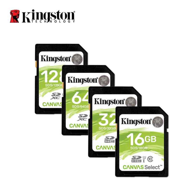 Kingston SD Card 32 GB Memory Card 128 GB Class 10 SDHC/SDXC Cartao De Memoria Micro SD Card 16 Gb 64 Gb For Digital Camera