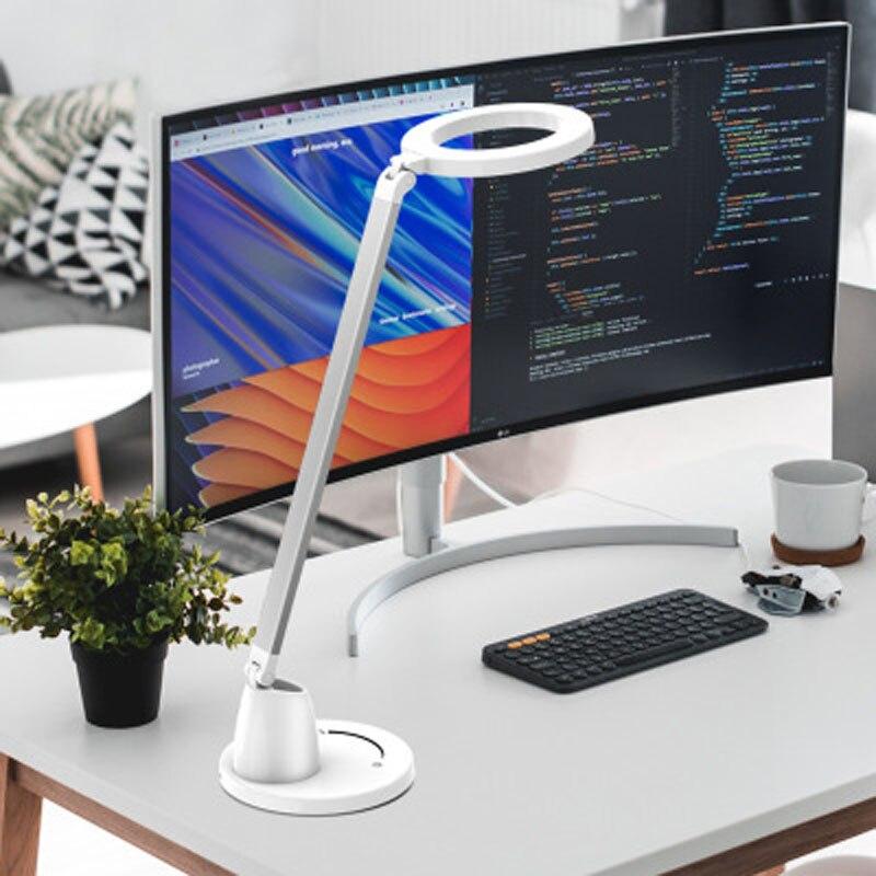 4000K LED lampe de table 7 niveaux gradation protection des yeux bureau plug-in lecture protection des yeux bureau lampe de table
