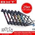 BXT углеродная рама для велосипеда 29er  полностью углеродная рама для велосипеда MTB  рама для велосипеда 27 2 мм  рама для подседельный штырь 142*12 ...