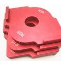 3 шт./компл. шаблон фрезерного станка с радиусом для обрезки деревообработки алюминиевый сплав углы радиуса R5 R10 R15 R20 R25 R30 R35 R40 T10 T25