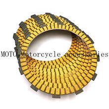 9pcs Motorcycle Engine Parts Clutch Friction Plates Kit For Kit For Harley Touring Road King Electra Glide Fatboy Softail