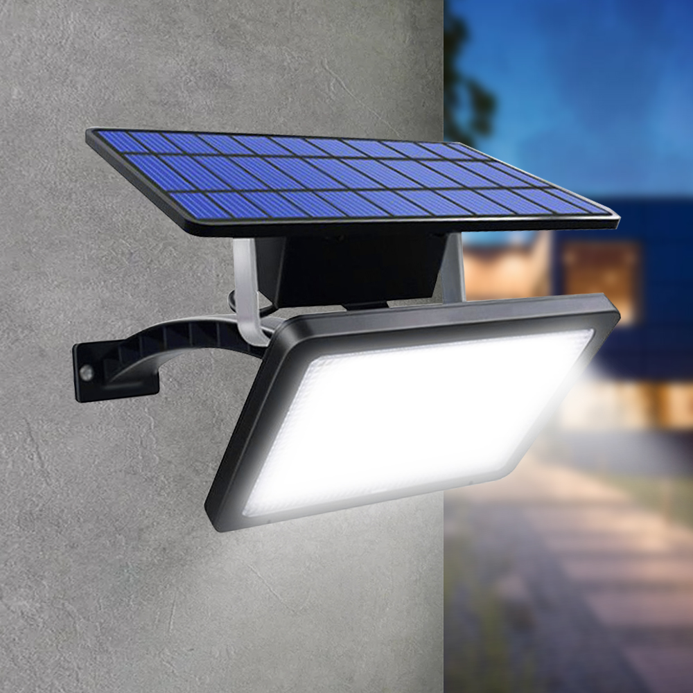 iluminação ajustável lâmpada solar super brilhante lâmpada