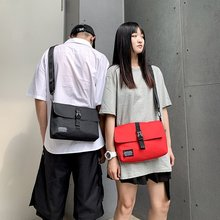 купить SHUJIN Small Women Crossbody Bag Unisex Cheap Canvas Messenger Bag Travel Casual Shoulder Bag Fashion Bags Bolsos Mujer по цене 485.75 рублей