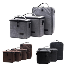 цена на For Canon Nikon Sony DSLR SLR Lens Camera Bag Photography Protective Case Protector Nylon Insert Partition Case Photo Bag